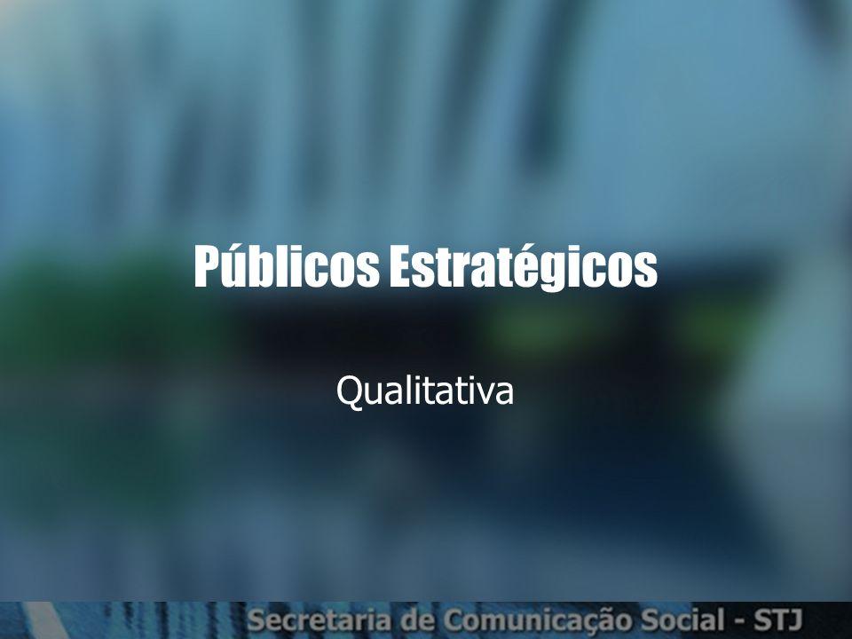Públicos Estratégicos Qualitativa