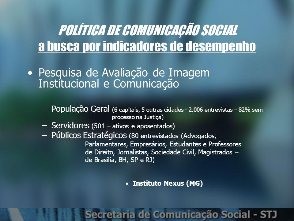 Meio pelo qual se informa sobre acontecimentos no Brasil