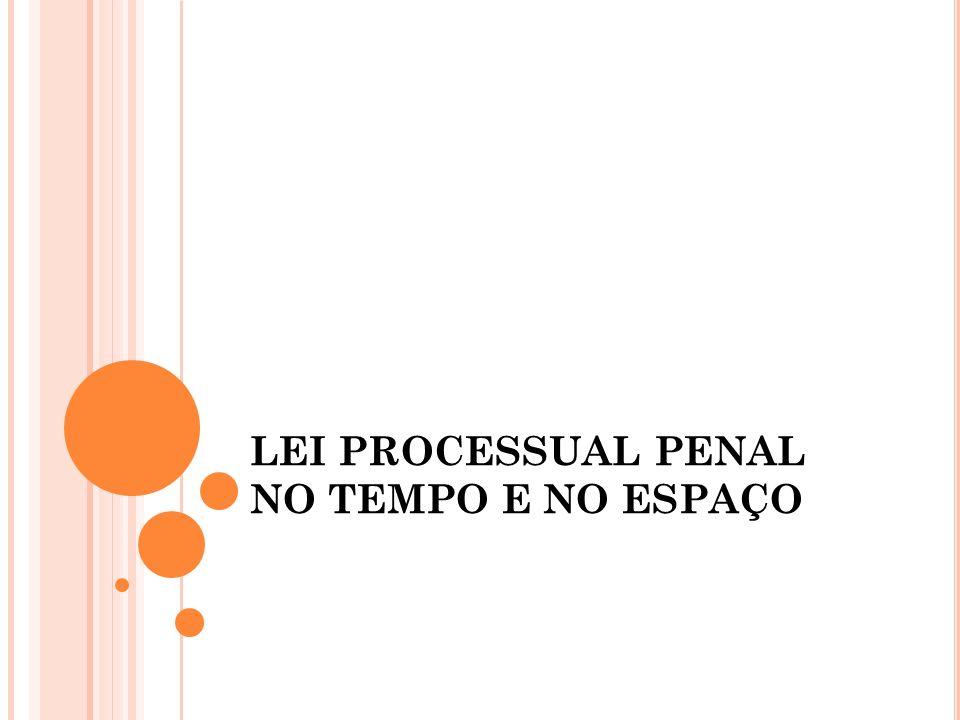 O processo penal, em todo o território nacional, rege-se pelo Decreto-lei n.
