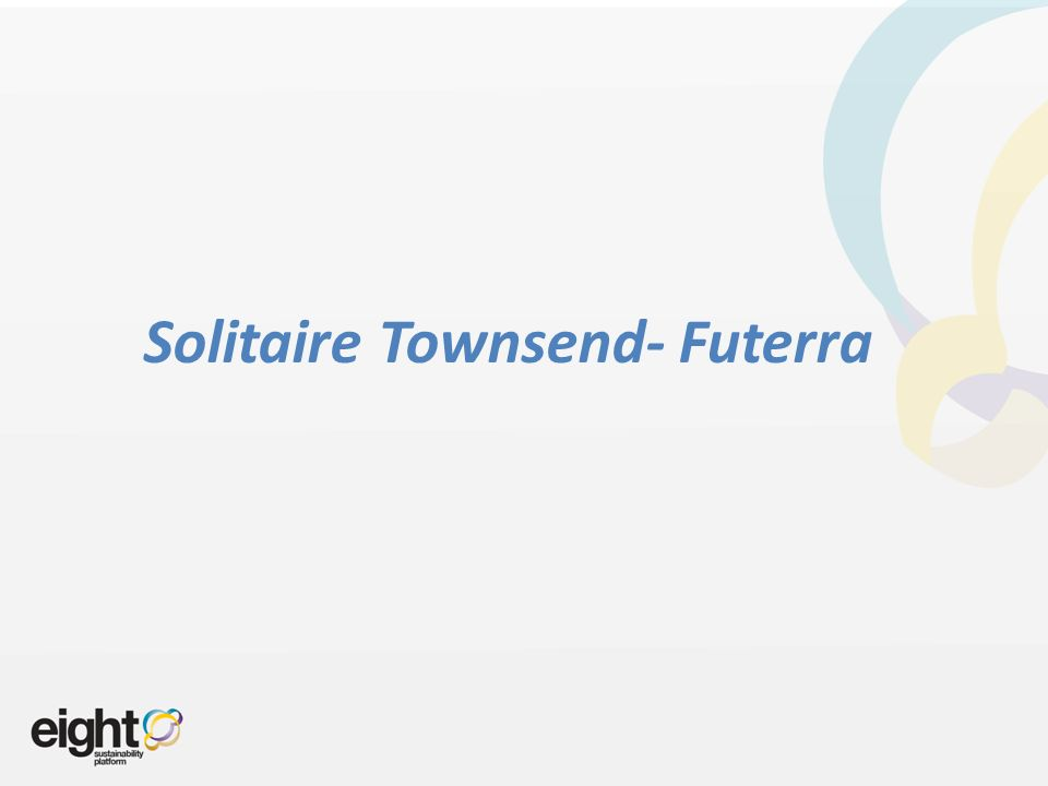 Solitaire Townsend- Futerra