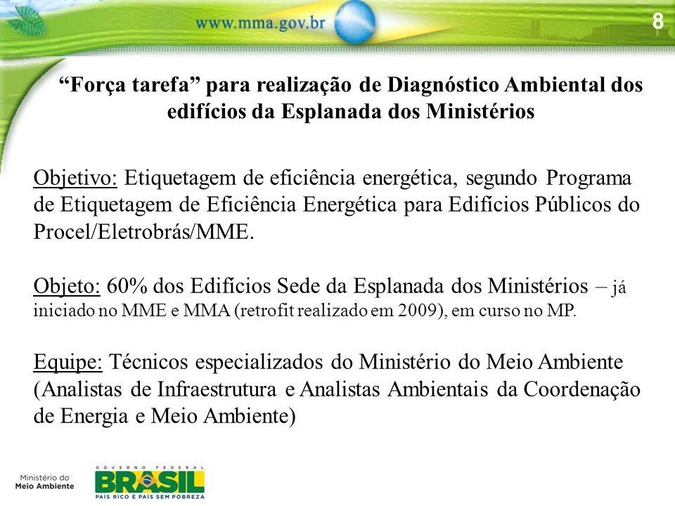 8 Objetivo: Etiquetagem de eficiência energética, segundo Programa de Etiquetagem de Eficiência Energética para Edifícios Públicos do Procel/Eletrobrá