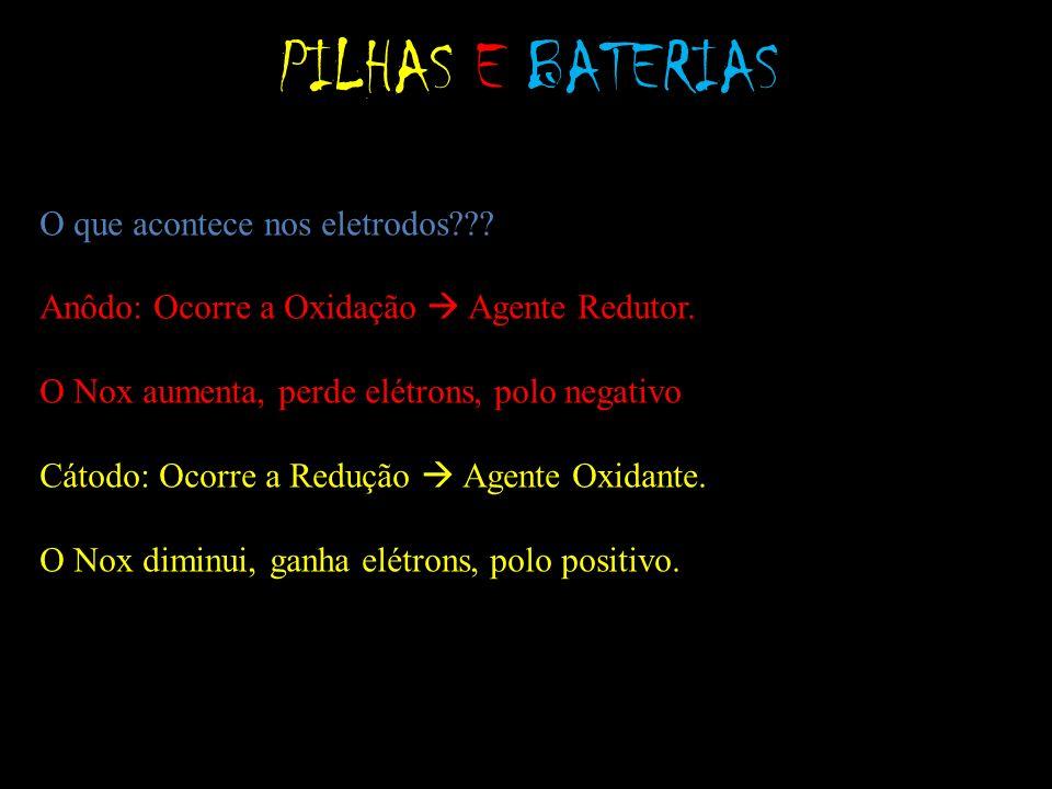 PILHAS E BATERIAS Quem é Quem?