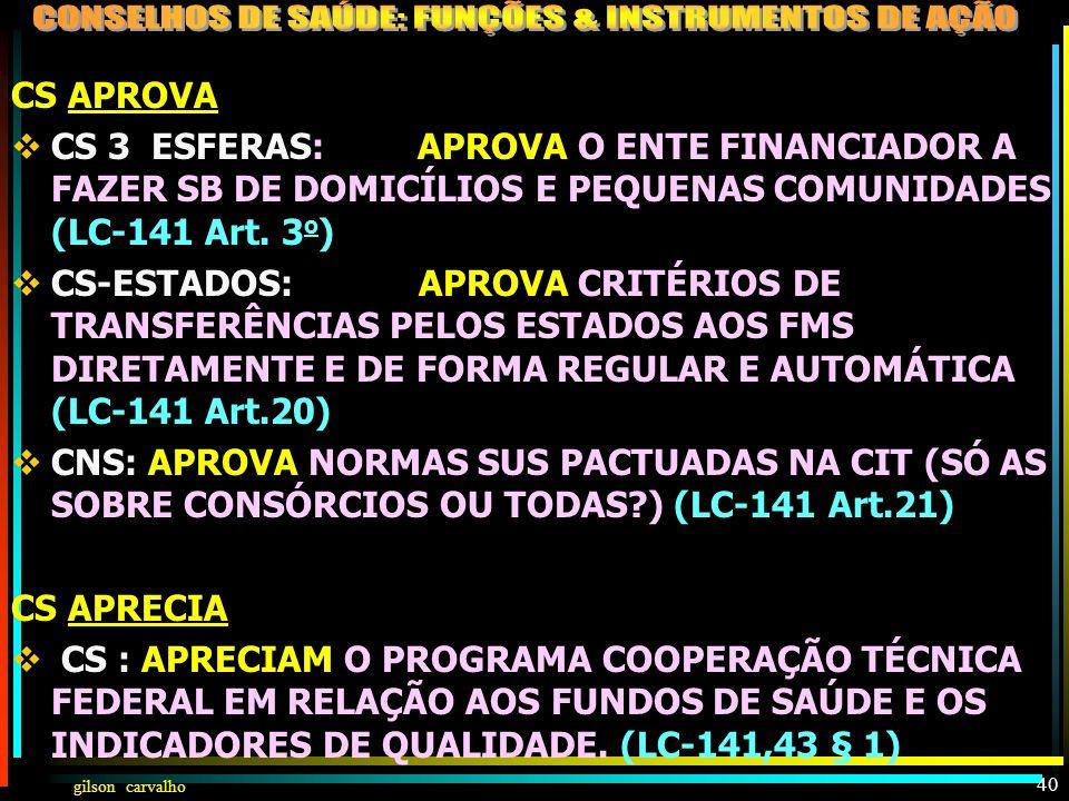 gilson carvalho 39 DECRETO 7508 - CAP III - PLANEJAMENTO DA SAÚDE Art. 15. O processo de planejamento da saúde será ascendente e integrado, do nível l
