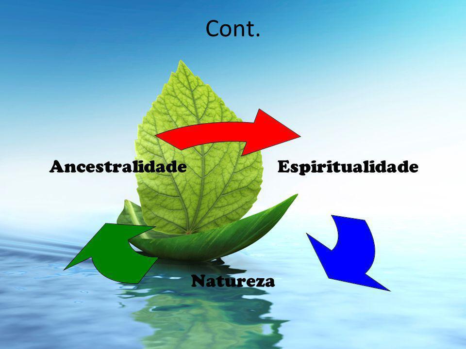 Cont. Espiritualidade Natureza Ancestralidade