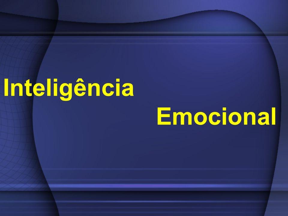 Componentes da Inteligência Emocional Capacidade de negociar soluções: O talento do mediador, evitando conflitos ou resolvendo os que explodem.
