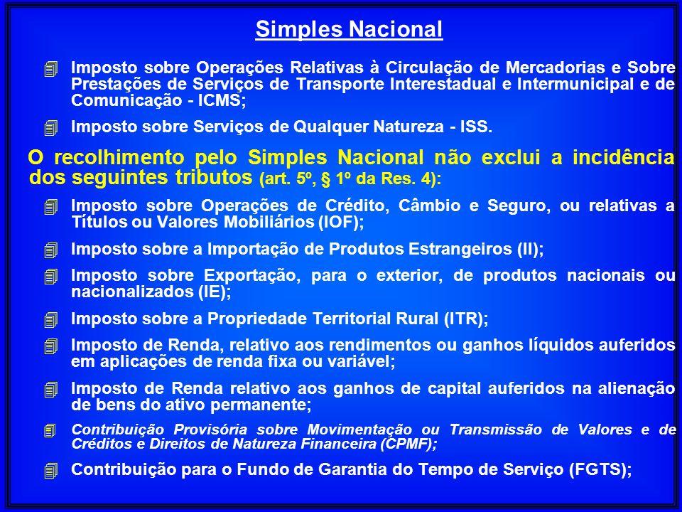 4 Imposto sobre Operações Relativas à Circulação de Mercadorias e Sobre Prestações de Serviços de Transporte Interestadual e Intermunicipal e de Comun