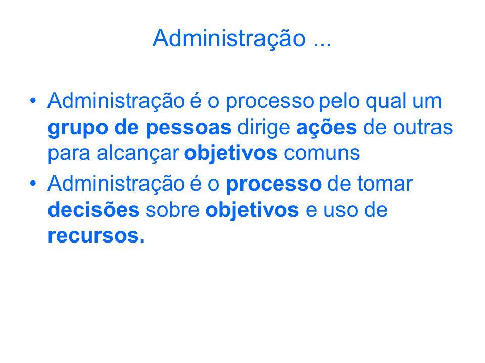 Administração...