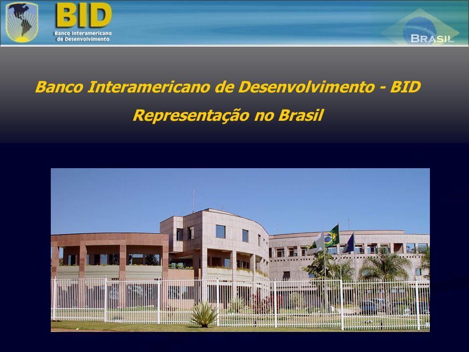 Banco Interamericano de Desenvolvimento - BID Representação no Brasil