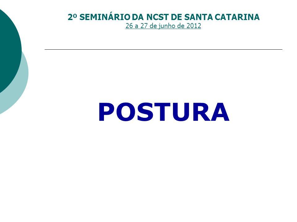 2º SEMINÁRIO DA NCST DE SANTA CATARINA 26 a 27 de junho de 2012 EDITAIS DE CONVOCAÇÃO DE ASSEMBLÉIA