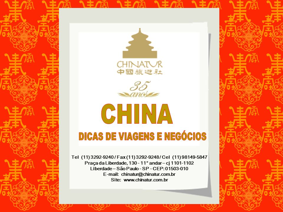 Tel (11) 3292-9240 / Fax (11) 3292-9248 / Cel (11) 98149-5847 Praça da Liberdade, 130 - 11° andar – cj 1101-1102 Liberdade – São Paulo - SP - CEP: 015