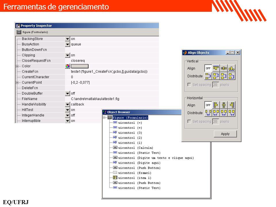 get(handles.edit1, String ) Recebendo informação do usuário EQ/UFRJ Tag