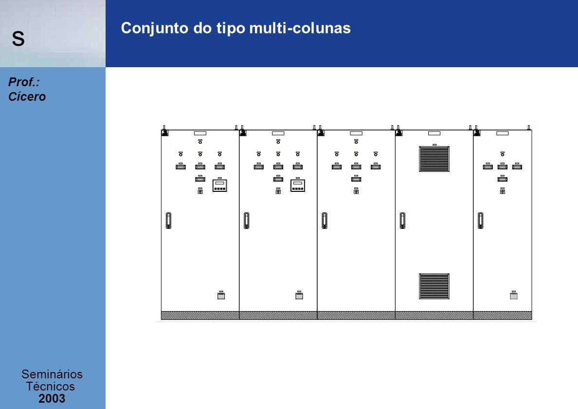 s Seminários Técnicos 2003 Prof.: Cícero Conjunto do tipo multi-colunas