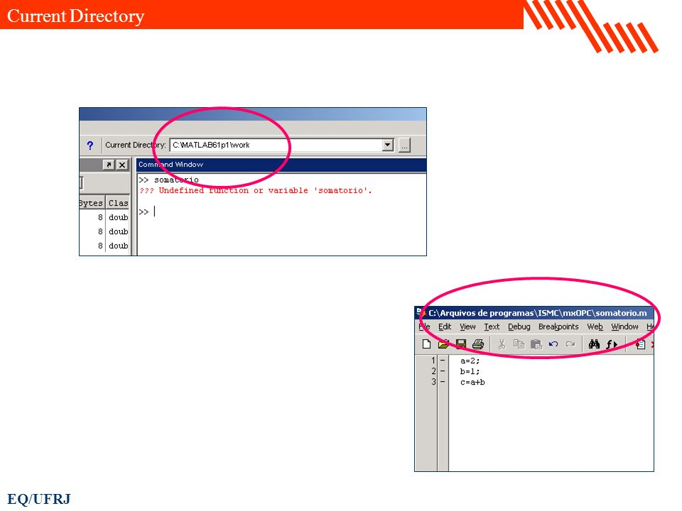 EQ/UFRJ Current Directory