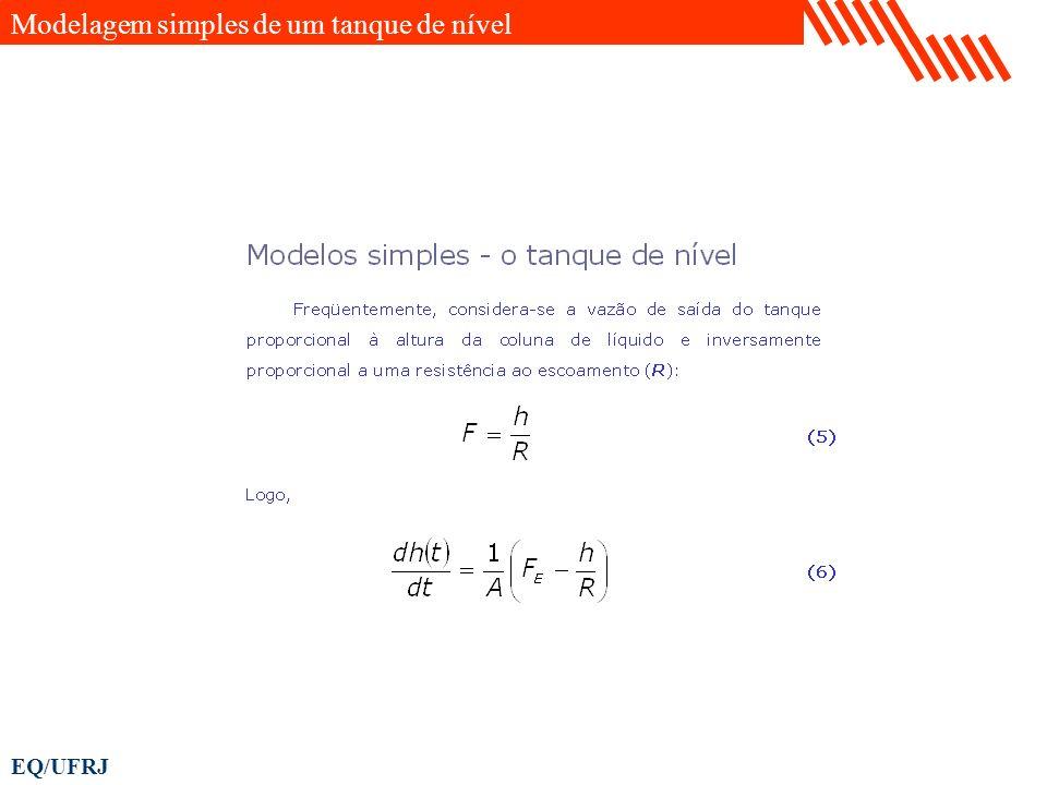 EQ/UFRJ Modelagem simples de um tanque de nível