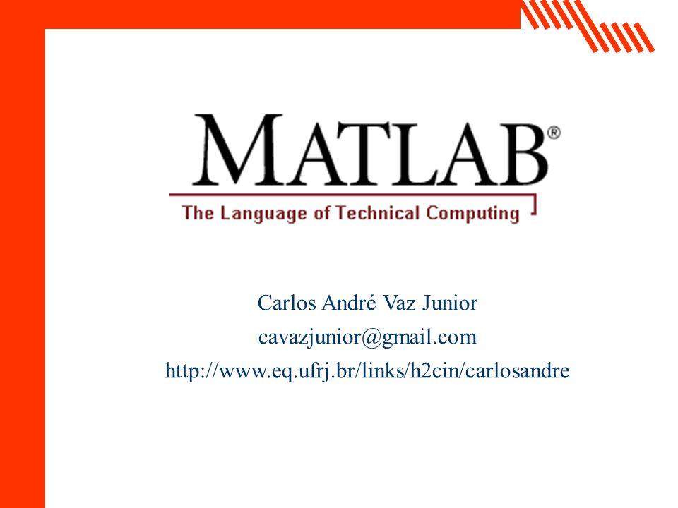 EQ/UFRJ Carlos André Vaz Junior cavazjunior@gmail.com http://www.eq.ufrj.br/links/h2cin/carlosandre