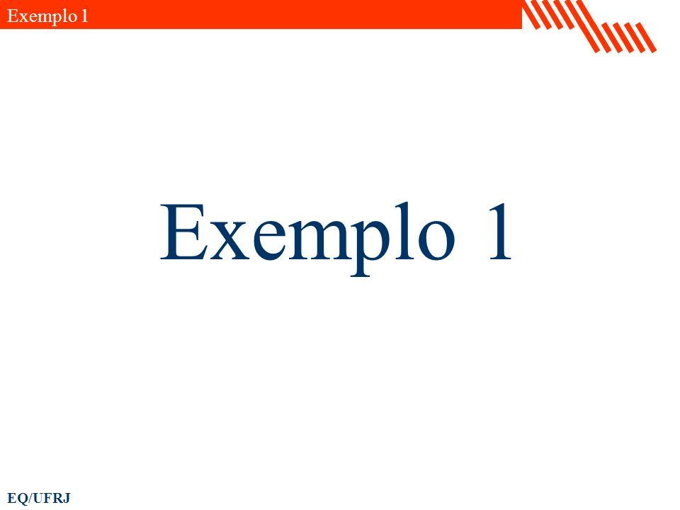EQ/UFRJ Exemplo 4 Nesse exemplo desejamos elaborar um gráfico de superfície que uma propriedade termodinâmica.