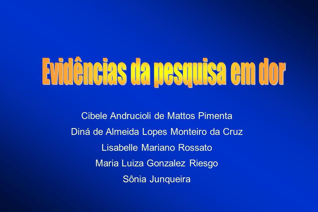 Cibele Andrucioli de Mattos Pimenta Diná de Almeida Lopes Monteiro da Cruz Lisabelle Mariano Rossato Maria Luiza Gonzalez Riesgo Sônia Junqueira
