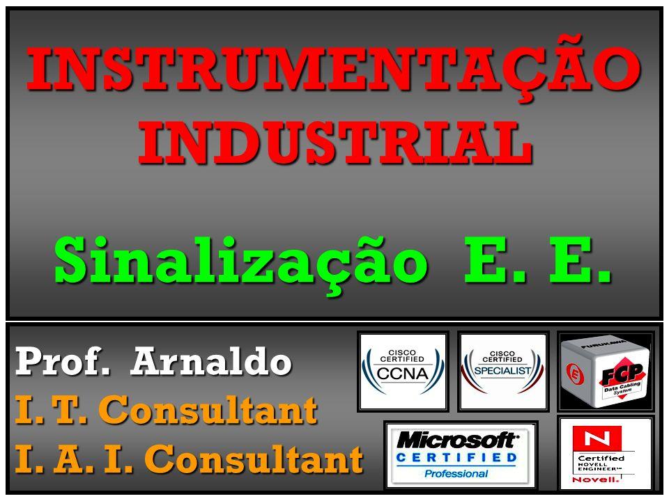 INSTRUMENTAÇÃO INDUSTRIAL Sinalização E. E. Prof. Arnaldo I. T. Consultant I. A. I. Consultant