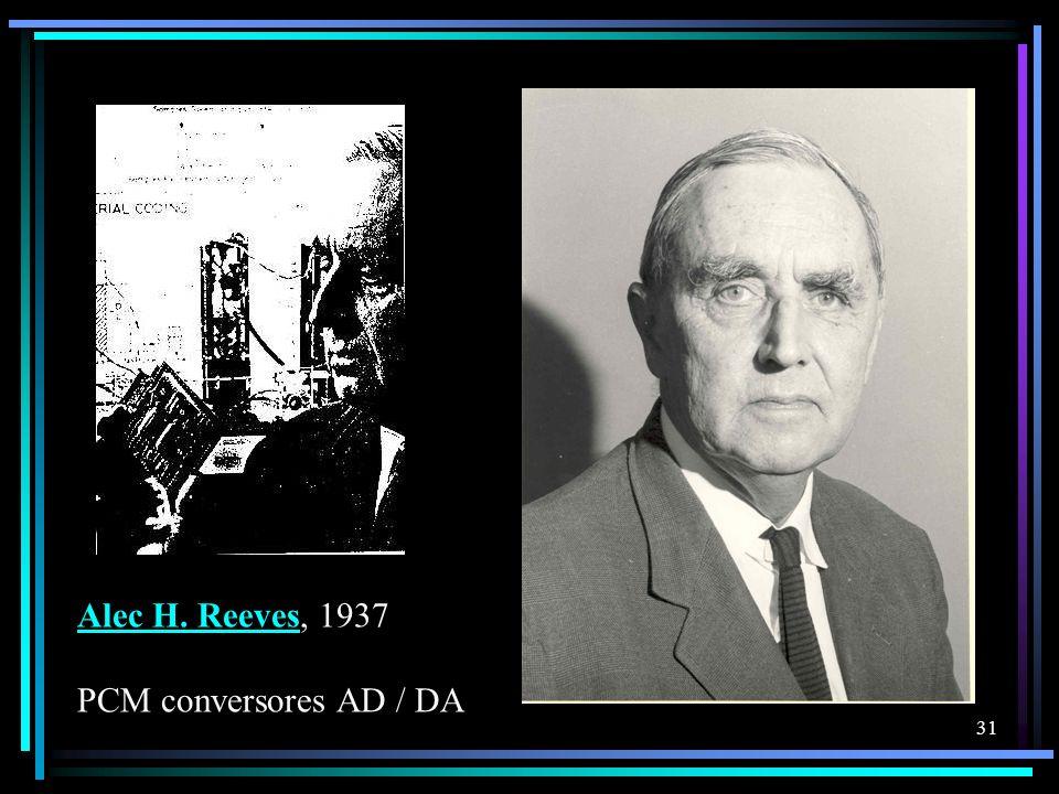 Alec H. ReevesAlec H. Reeves, 1937 PCM conversores AD / DA 31