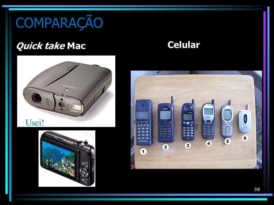 COMPARAÇÃO Quick take Mac Celular 38 Usei!
