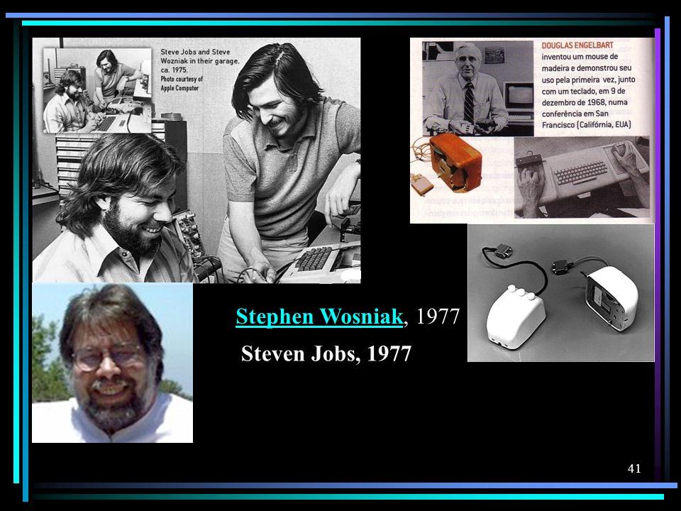 Steven Jobs, 1977 Stephen WosniakStephen Wosniak, 1977 41