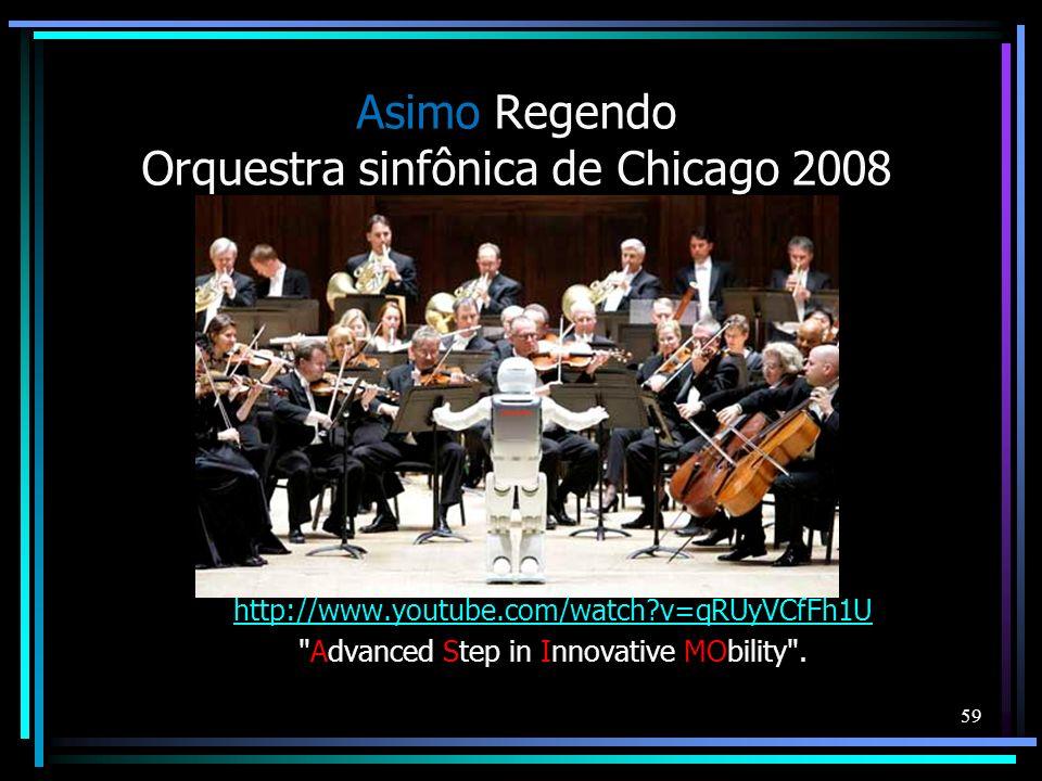 Asimo Regendo Orquestra sinfônica de Chicago 2008 http://www.youtube.com/watch?v=qRUyVCfFh1U