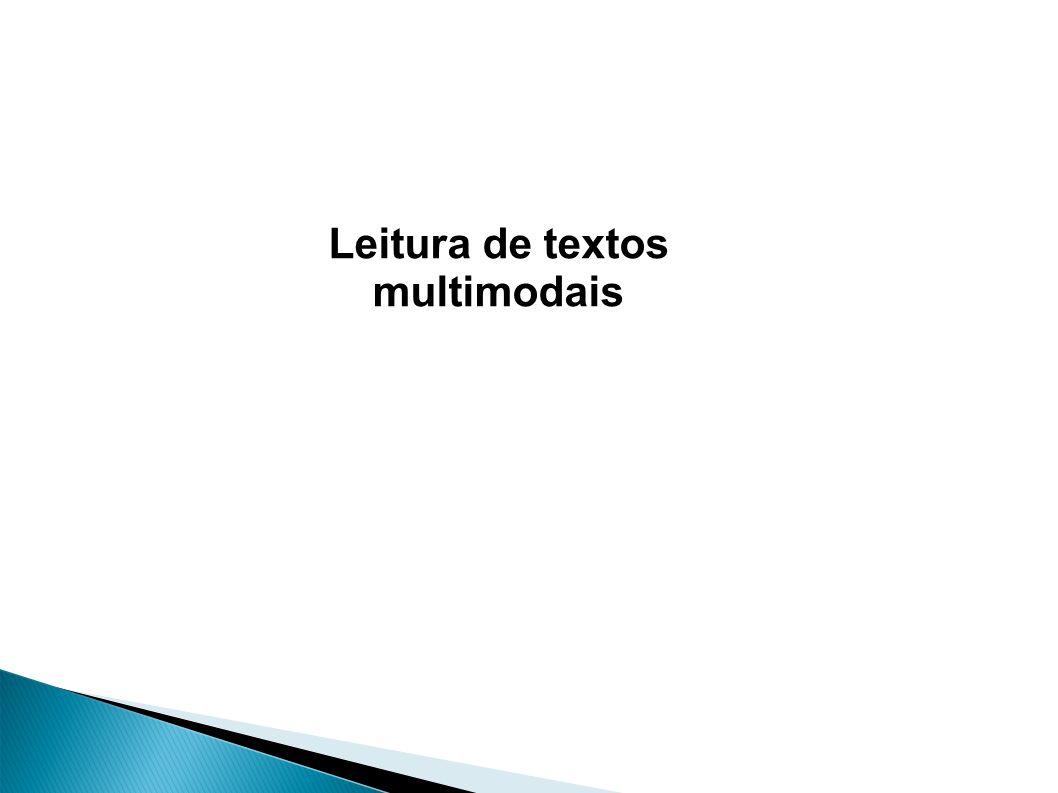Leitura de textos multimodais