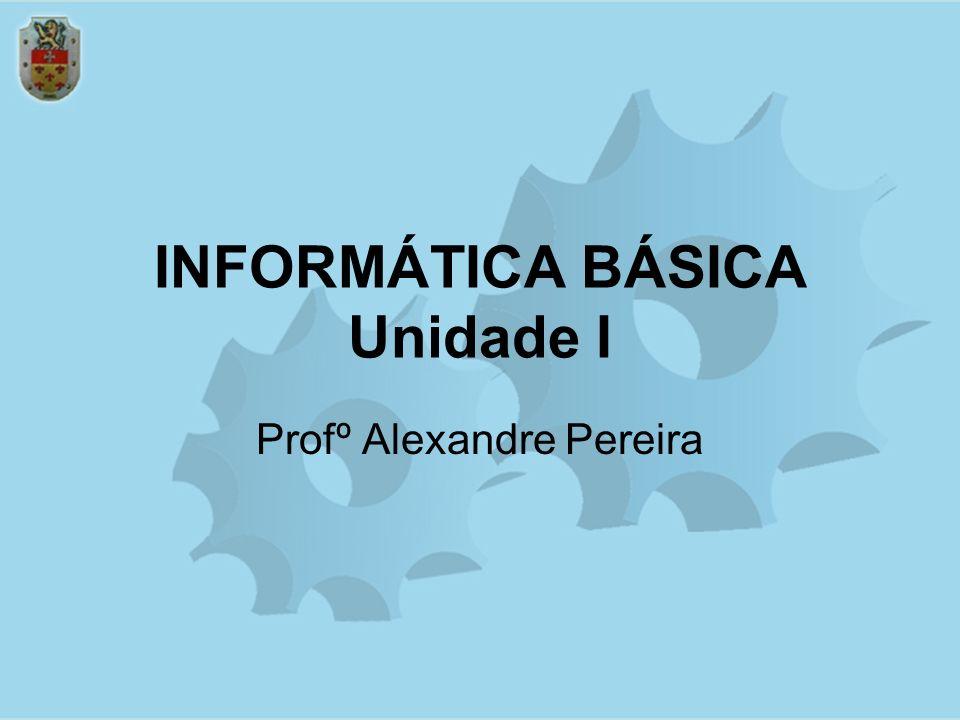 INFORMÁTICA BÁSICA Unidade I Profº Alexandre Pereira