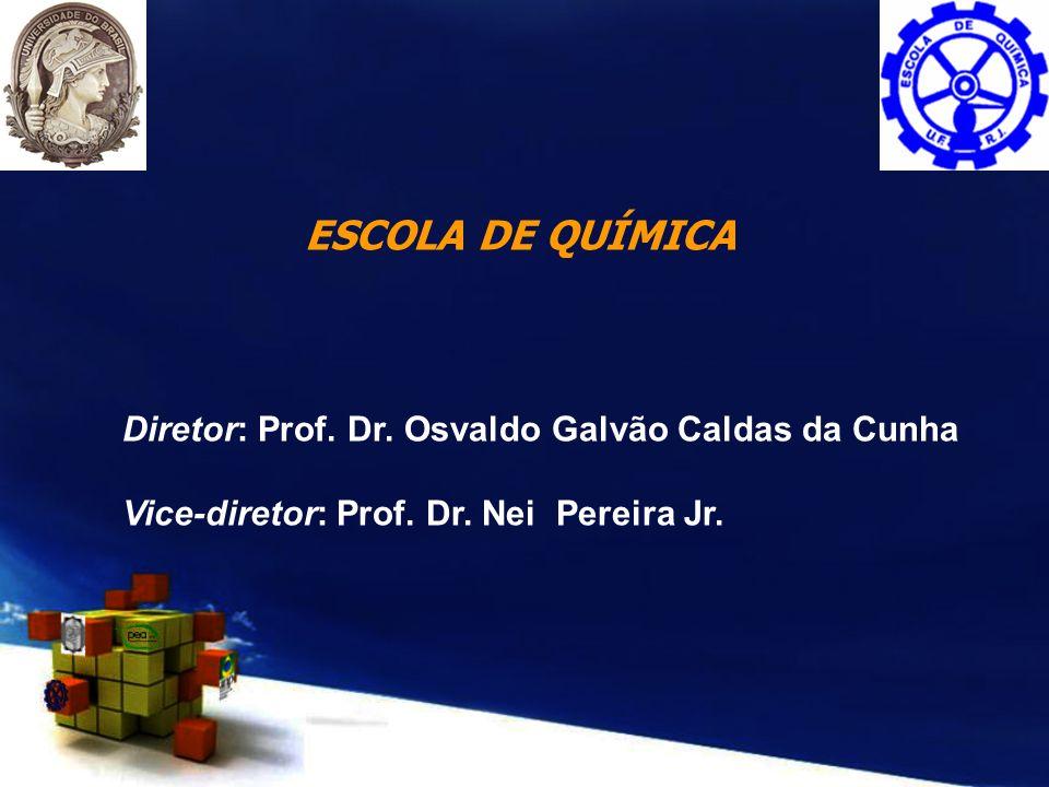 ESCOLA DE QUÍMICA Diretor: Prof. Dr. Osvaldo Galvão Caldas da Cunha Vice-diretor: Prof. Dr. Nei Pereira Jr.