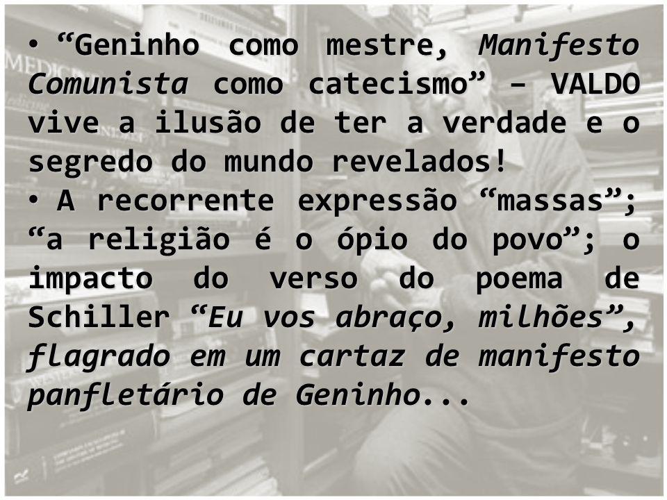 A morte de Geninho...A morte de Geninho...