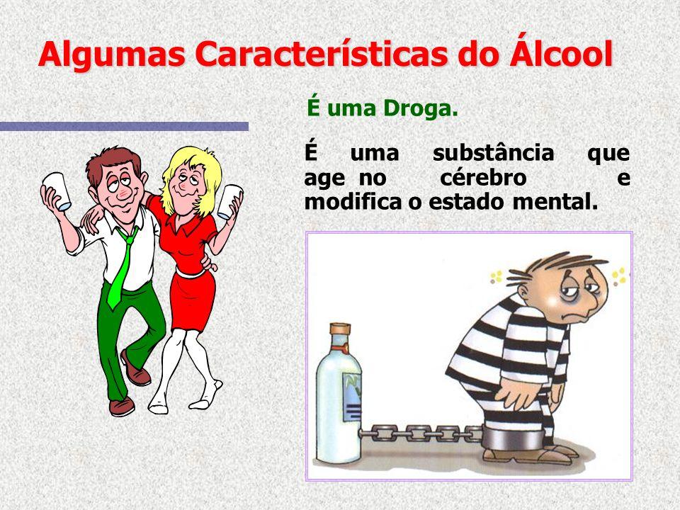 O que é o Alcoolismo? É uma Doença Crônica, tratável, como as demais doenças e muito comum que se caracteriza pelo uso descontrolado do álcool trazend