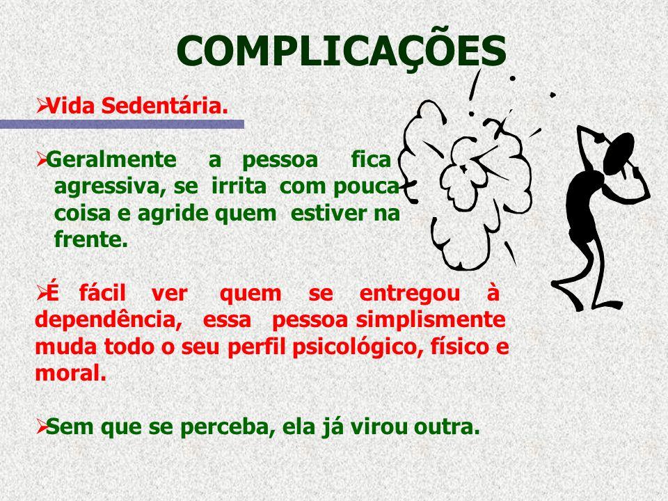 COMPLICAÇÕES MUDA DE COMPORTAMENTO.TROCA DE HORÁRIOS.