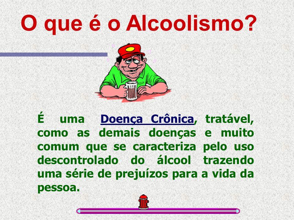O que é o Alcoolismo.
