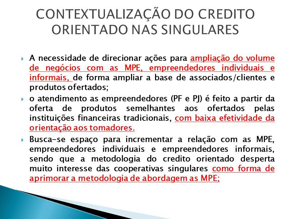 Através da Lei 11.110/05 foi criado o Programa Nacional de Microcrédito Produtivo Orientado - PNMPO.