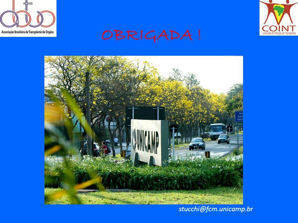 OBRIGADA ! stucchi@fcm.unicamp.br