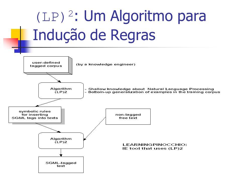 (LP) 2 : Um Algoritmo para Indução de Regras