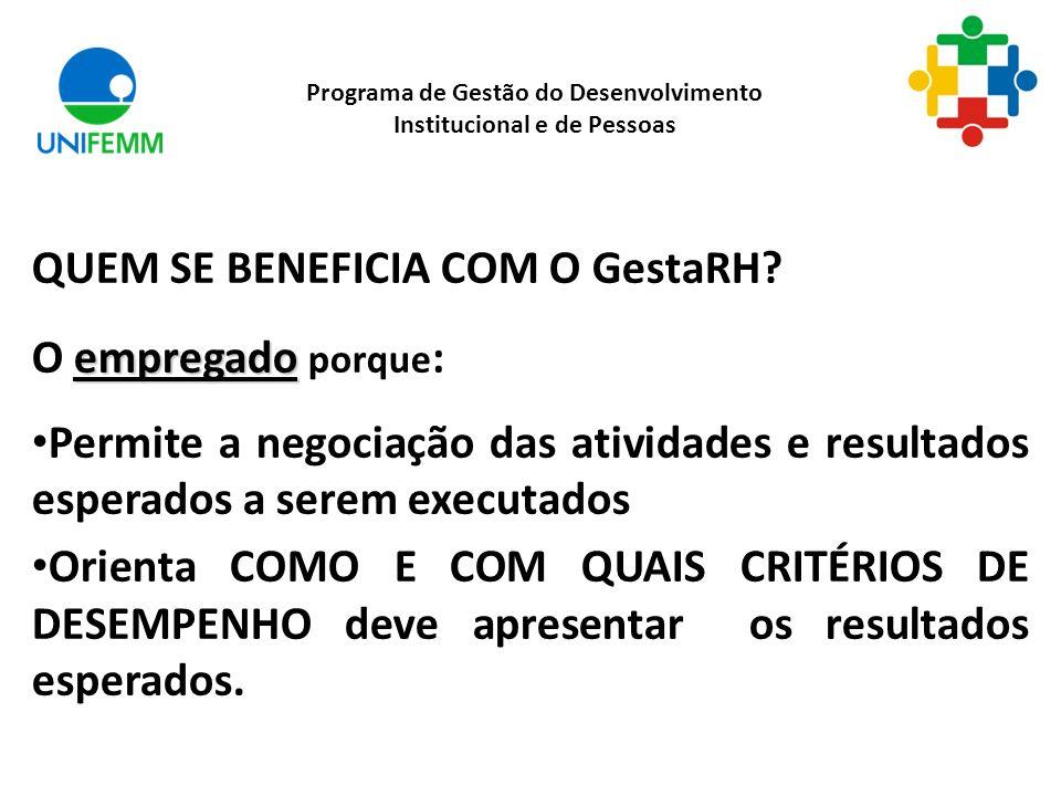 QUEM SE BENEFICIA COM O GestaRH.