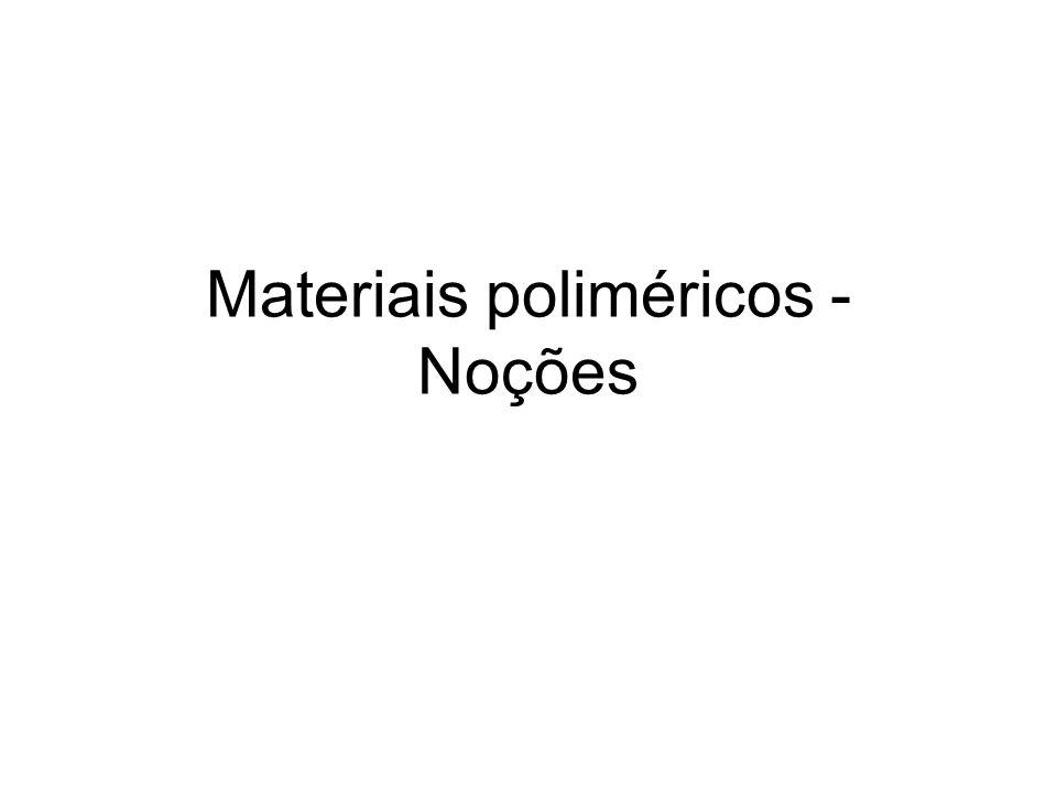 Materiais poliméricos - Noções