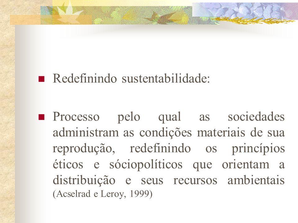 Documento não apresenta críticas à sociedade industrial que caracterizam os documentos anteriores; demanda crescimento tanto em países industrializado