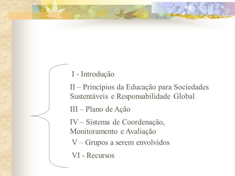 TRATADO DE EDUCAÇÃO AMBIENTAL PARA SOCIEDADES SUSTENTÁVEIS E RESPONSOBILIDADE GLOBAL passa a ser referência para a Educação Ambiental e tornou-se Cart