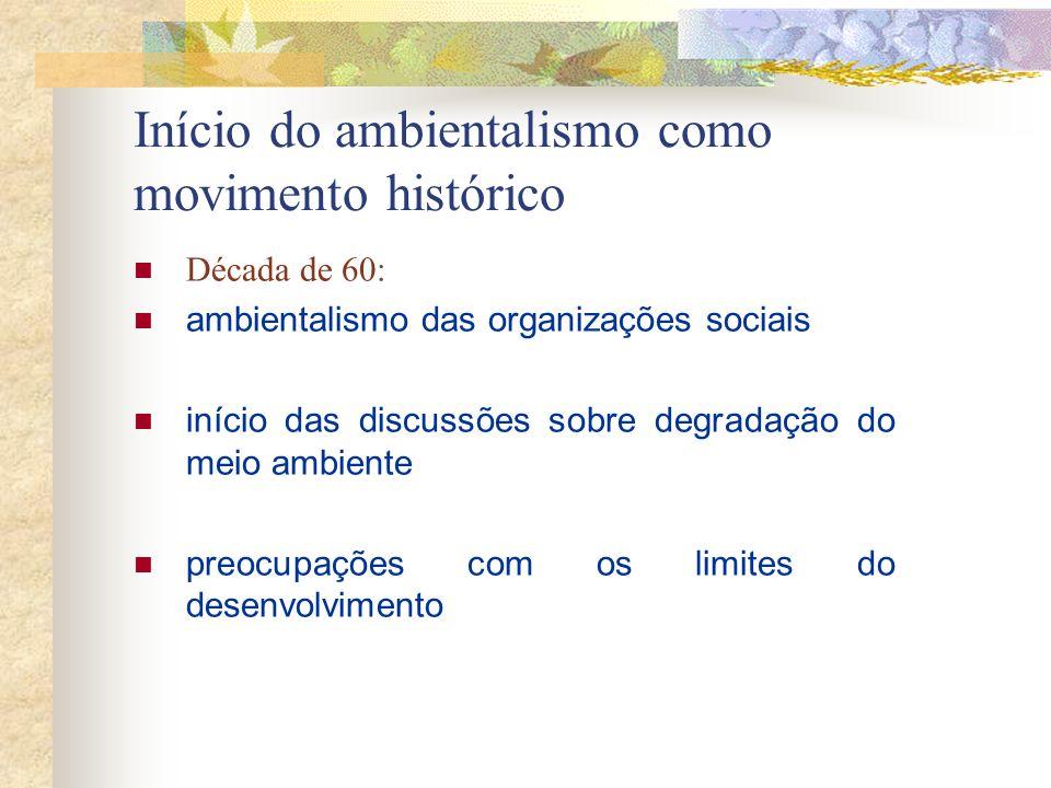 Anos 90: após a RIO-92, toda pessoa inteligente, bem informada e pensante sabe que nossa atual Cultura Industrialista Global é insustentável e que, se