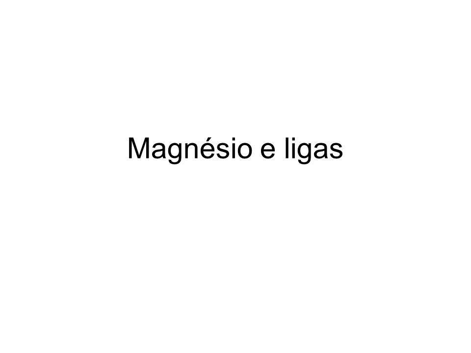 Magnésio e ligas