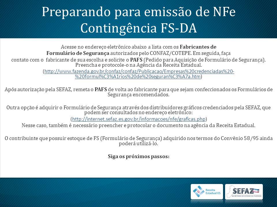 Selecione a NF-e no quadro DPECs autorizados.Clique em Detalhar.