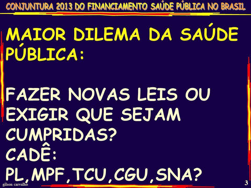 gilson carvalho 2 DIMENSÕES NÃO DIVULGADAS DO SUS AÇÕES SAÚDE - SUS - BRASIL – 2012 (10 MI/DIA DE PROCEDIMENTOS) TOTAL AMBULATORIAL 3,8 bi Promoção e