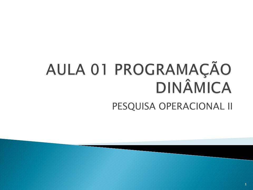 PESQUISA OPERACIONAL II 1