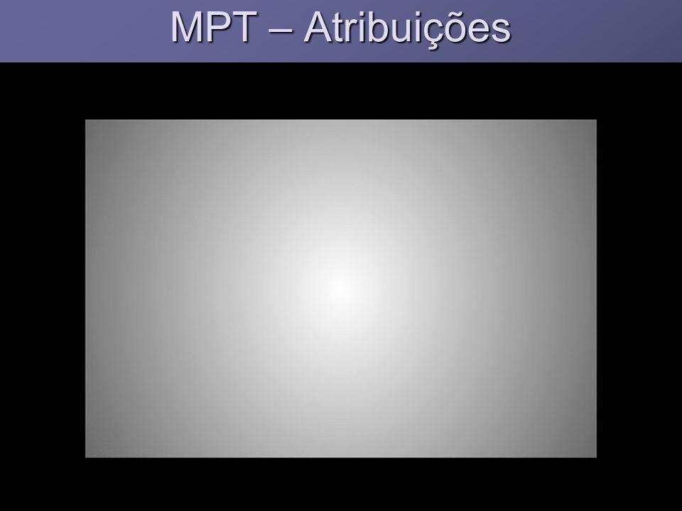MPT – Atribuições