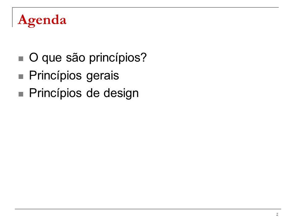 3 O que é um princípio .