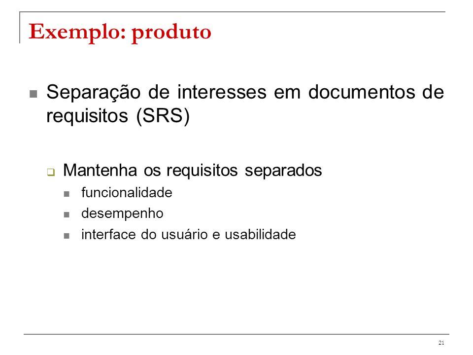 22 Separação de interesses Authorization Synchronization Cache update Logging Contract validation Persistence
