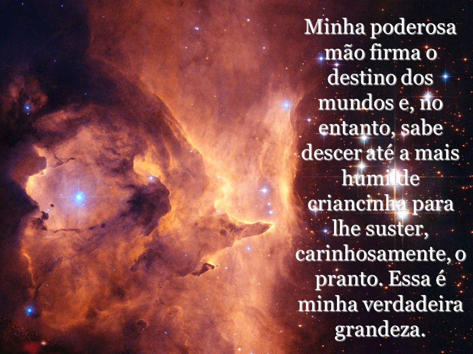 Tudo é conexo no universo; causas físicas e efeitos morais, causas morais e efeitos físicos. Um organismo compressor vos envolve e nele estais presos