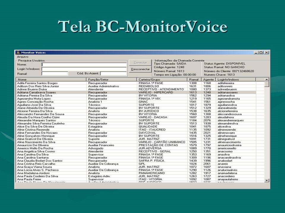 Tela BC-MonitorVoice